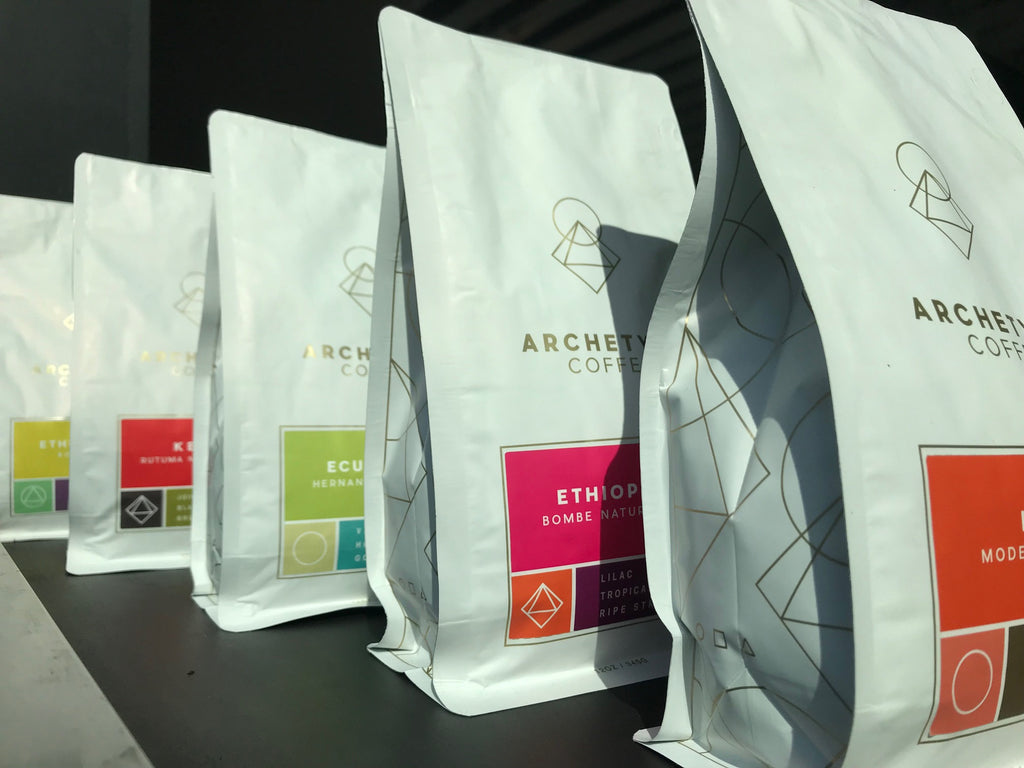 New coffees, new packaging!