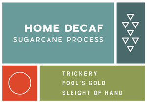 Home Decaf Sugarcane Process