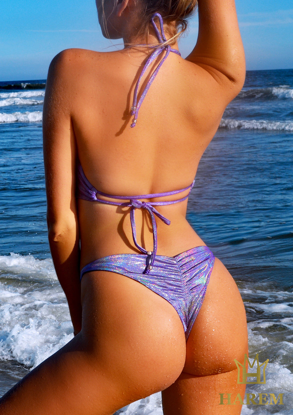 MARGARITA SCRUNCH BOTTOM (purple)
