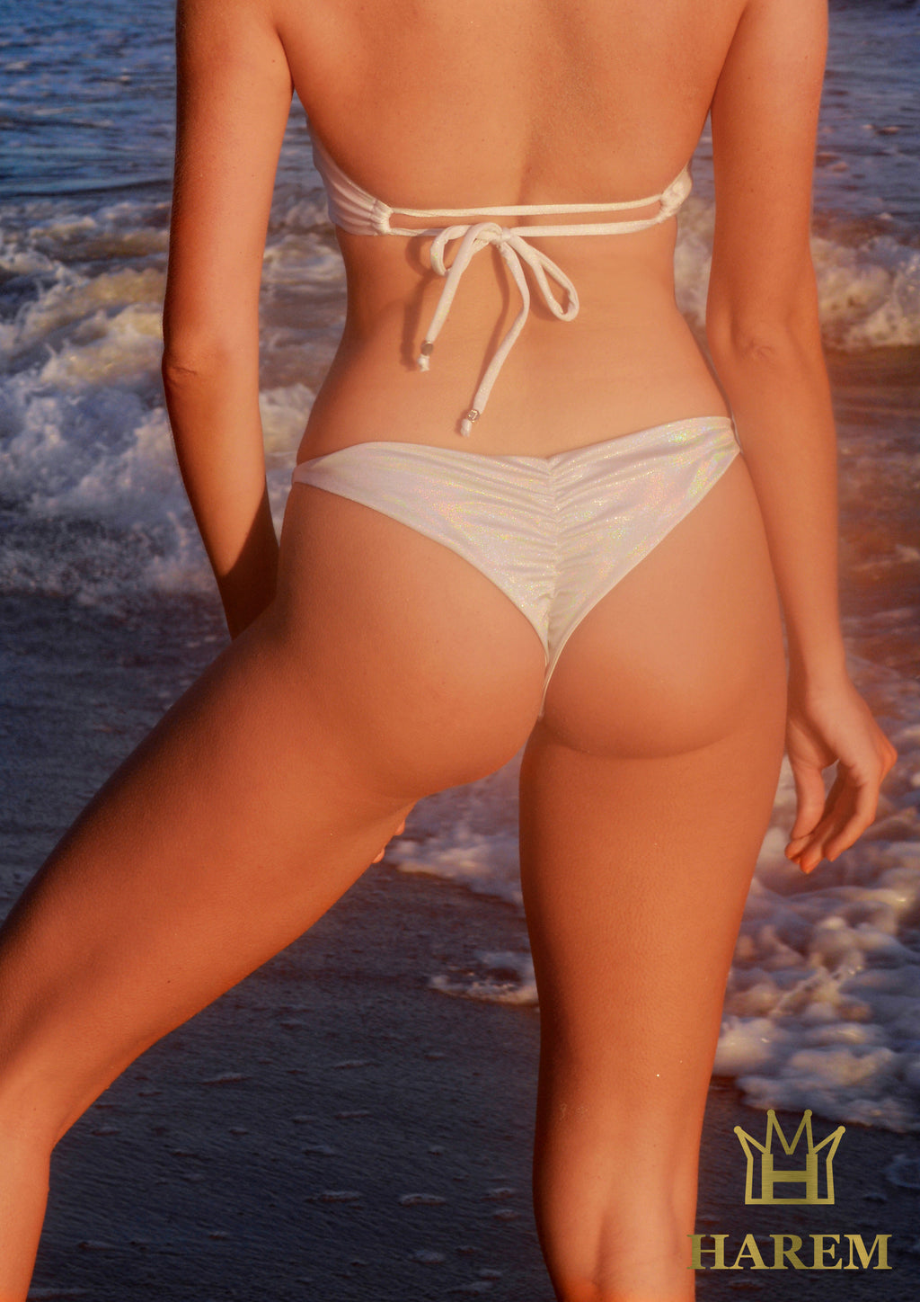 MARGARITA SCRUNCH BOTTOM (white)