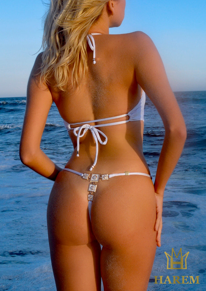 MARGARITA THONG BOTTOM (white)