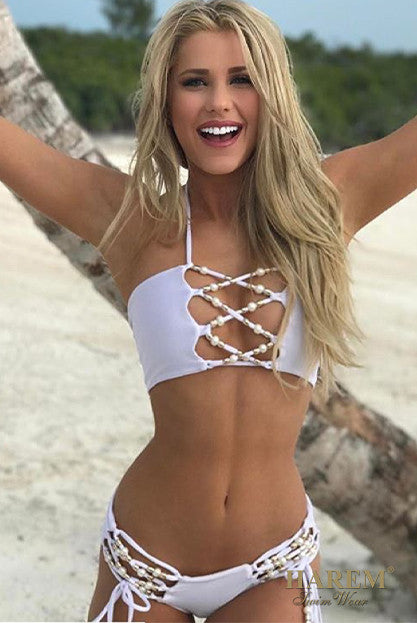 SO HOLLYWOOD BIKINI (white)