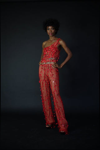 JUMPSUIT 'CHERRY GIRL""