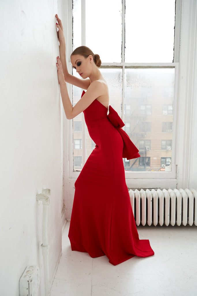 "GOWN ""LADY IN ROUGE"""