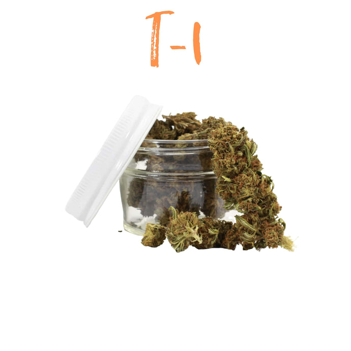 T-1 Hemp Flower - Pre-Packaged 3.5g