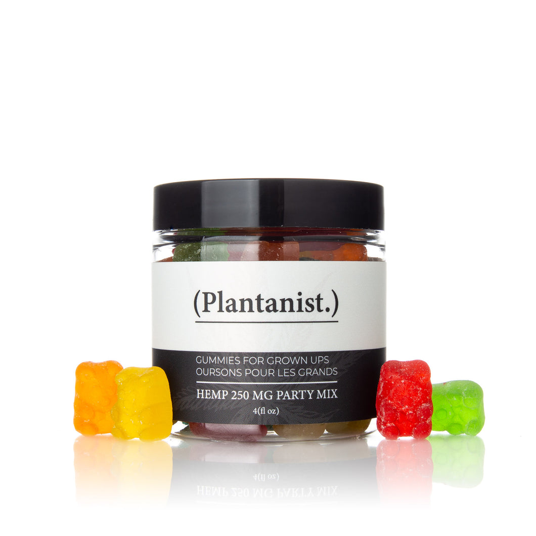 Plantanist CBD Mix Gummy Bears