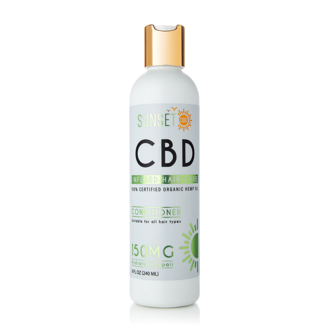 Sunset CBD Infused Conditioner 150MG