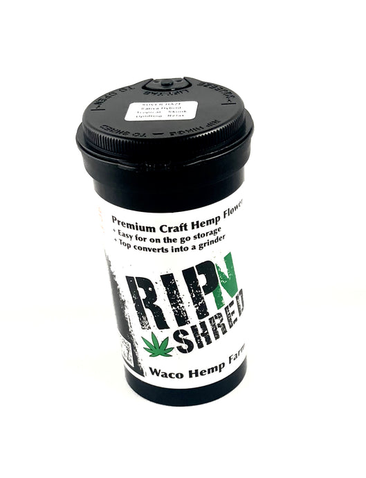 Rip-N-Shred - Waco Hemp Farm - High Grade Craft Hemp Flower w/built in grinder