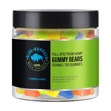Full Spectrum CBD Gummy Bears 1000 mg | 128 Bears