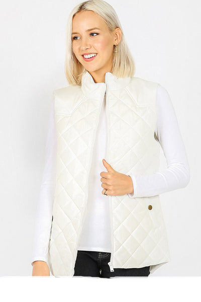 2626   Aspen Diamond Quilted Vest