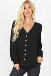 2643   Theresa Button-Down Blouse