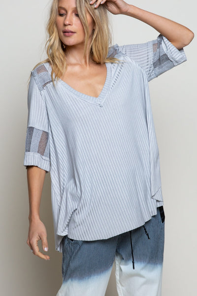 630   Becca Lightweight Ribbed Top