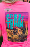 10384   Carlita Crazy Train Graphic T-shirt