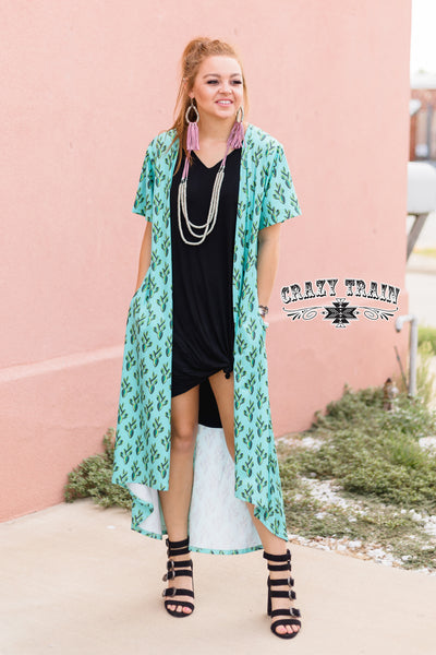10362   Campbell Cactus Duster w/ Pockets
