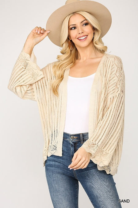 17585   Miche Striped Super Soft Sweater