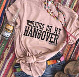 743   Cassie's Working on My Hangover Graphic T-Shirt