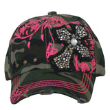1597   Way West Camo Hat