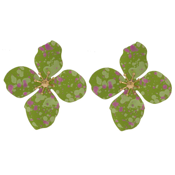 226267   Flower Post Earrings