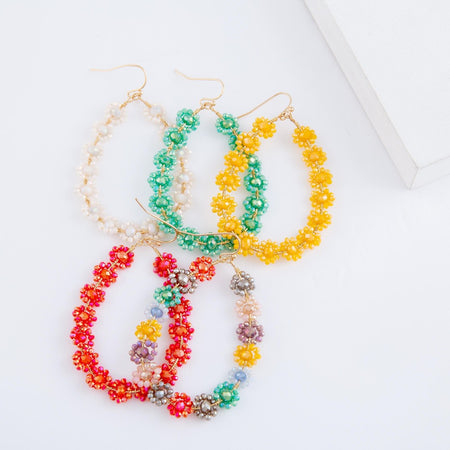 1447   Margarita Earrings by Dixie Bliss