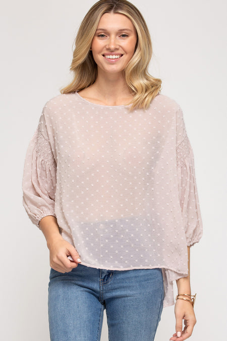01836   Charlize Ladder-Neck Top