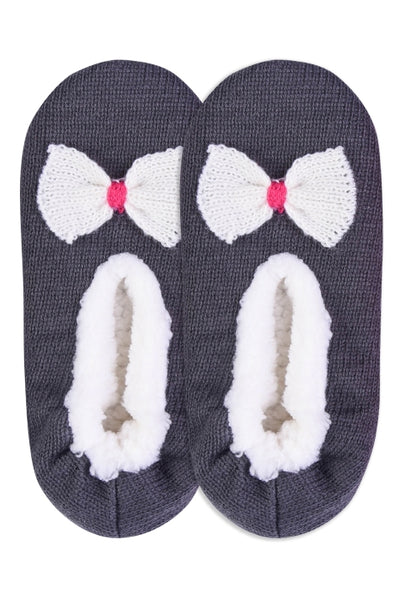 40301   Sherpa Lined Cozy Slippers