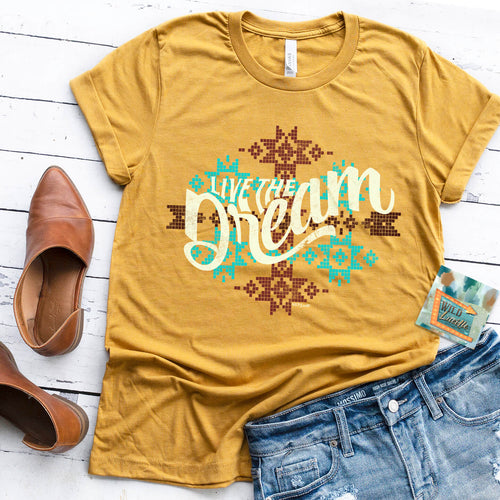 902   Penny's 'Live the Dream' Graphic T-shirt