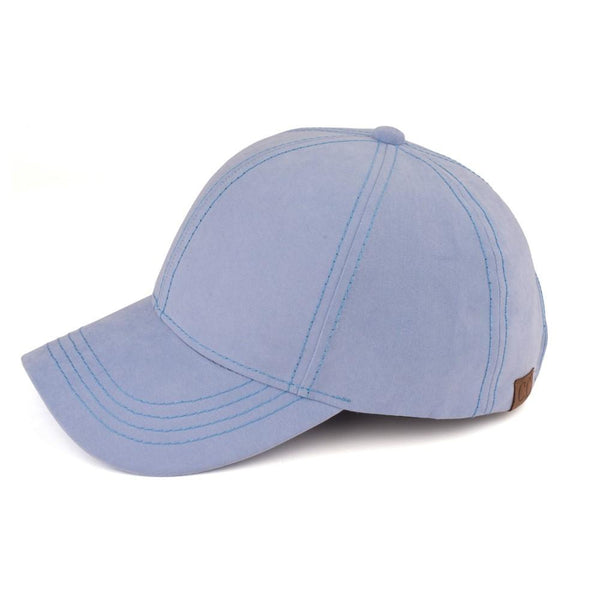 CC Suede Water Silk Hat