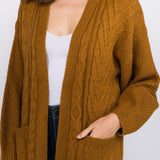 7302334   Adia Butternut Cable Sweater