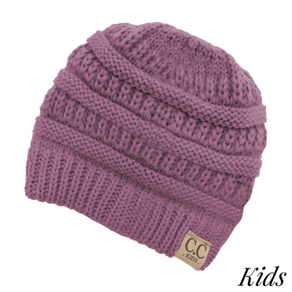5d3cd08a0d2 Kids CC Beanie - Original Cable-Knit Beanie – True Betty Boutique