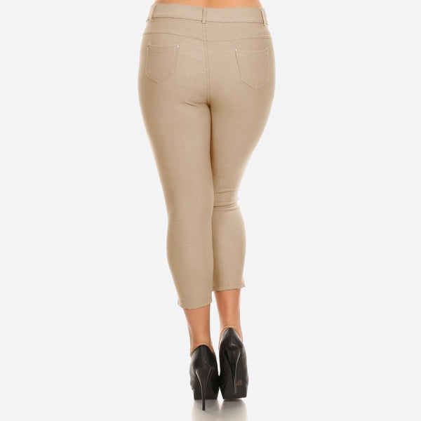 7300706   Stretchy Crop Pants