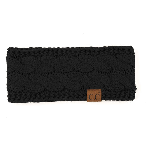CC Beanie - Cable-knit Headband