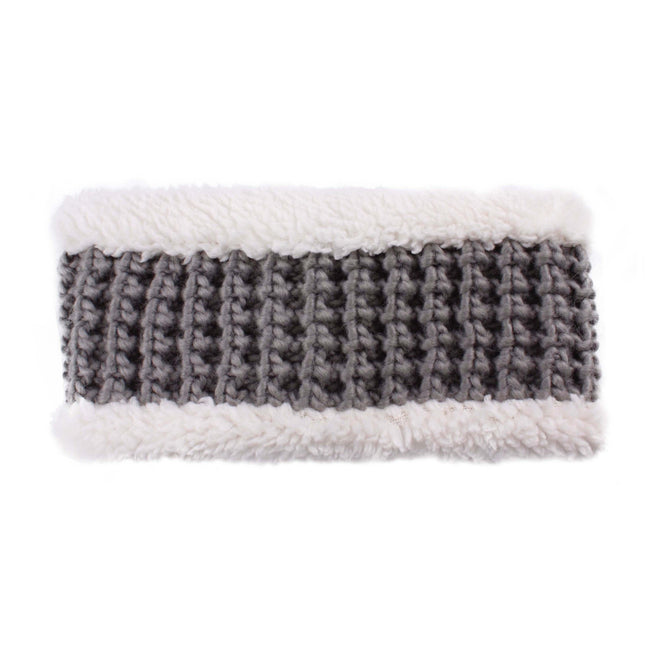 CC Headband    Knit C.C headband with fuzzy lining