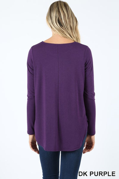 1754   Janice Long Sleeve Henley