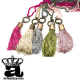0627   Betty's Bermuda Tassel Necklace by Amy Labbe
