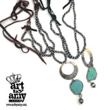 0624   Laura Gracefully Necklace by Amy Labbe