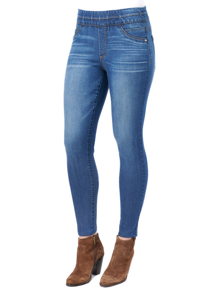 82137   Penny Destroyed Patched Tapered Slim Skinny Jeans