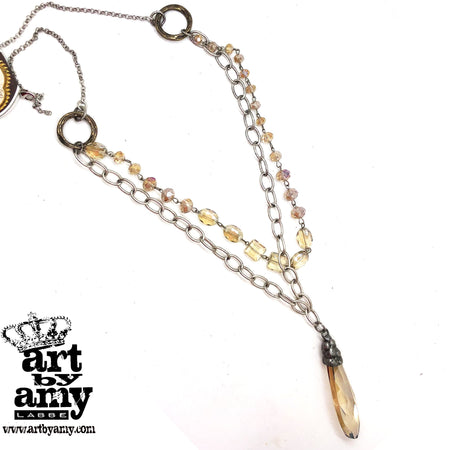 0632   Sia Scandalicious Necklace by Amy Labbe