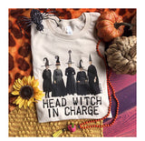 762   Head Witch in Charge Graphic T-Shirt