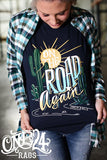 126020   Willamena On the Road Again Graphic T-shirt