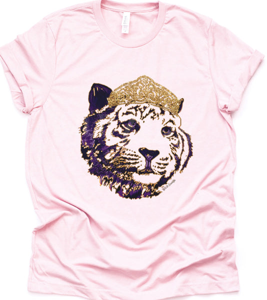 4000   Carole's Tiger Queen Graphic Tee