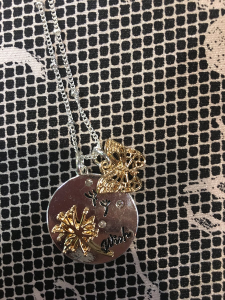 TB-120  Butterfly Necklace