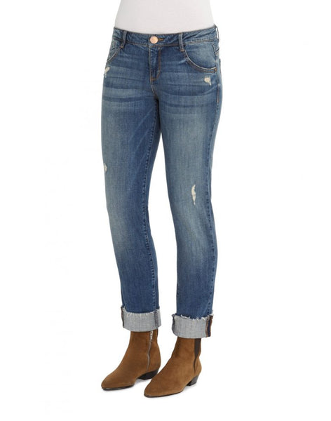 DEM-W1Y1569CU   Democracy Women's Flex-ellent Girlfriend Jean