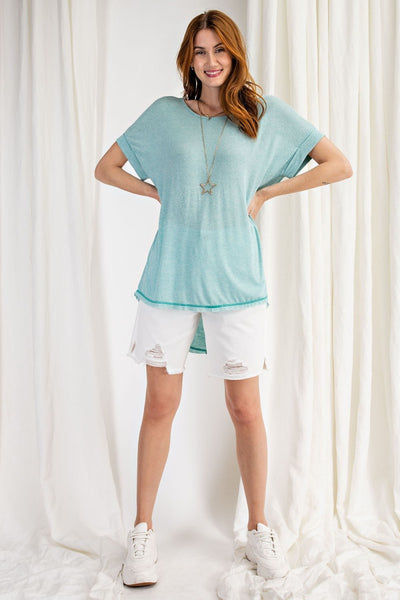 16896   Iris Short Sleeve Top