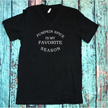 "Graphic tee ""Pumpkin spice is my favorite season"" - XS - 3XL"