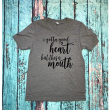 "Graphic tee ""I gotta good heart"" - XS - 3XL"