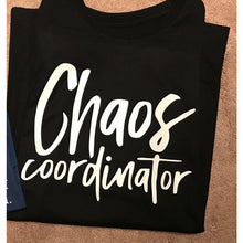 "Graphic tee ""Chaos coordinator"" - XS - 3XL"