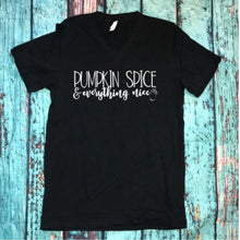 "Graphic tee ""Pumpkin spice and everything nice"" - XS - 3XL"