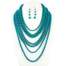Multi-strand necklace set