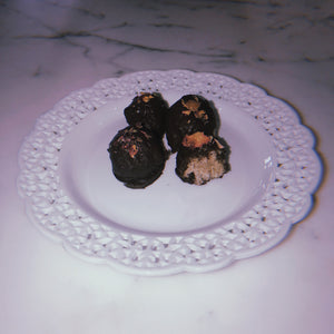Sexy Adaptogenic Cookie Drip Rose Truffles