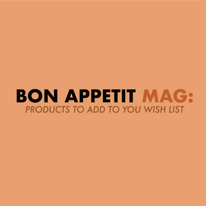 5-star rating from Bon Appetit Mag.
